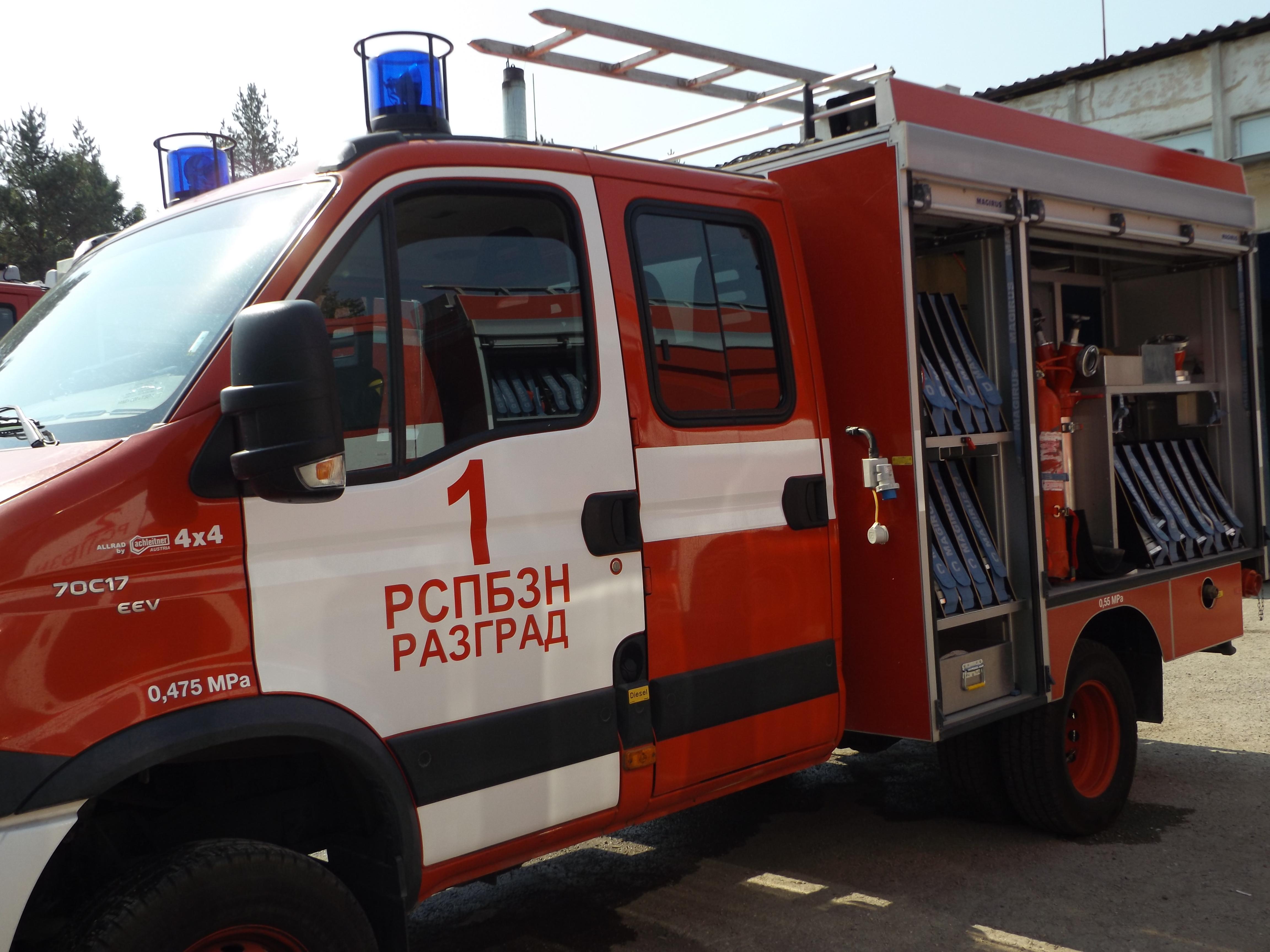 Пожар унищожи гредоред и домашно имущество в Дянков