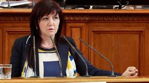 Председателят на Народното събрание Цвета Караянчева  ...