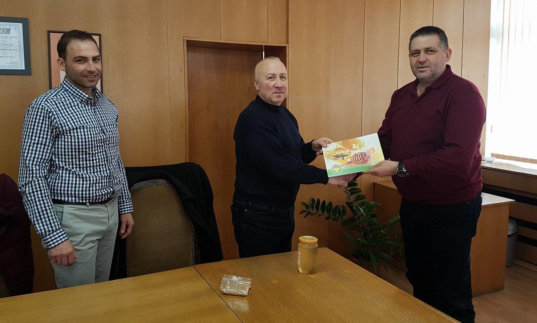 Д-р Валентин Василев се срещна с председателя на Облас� ...
