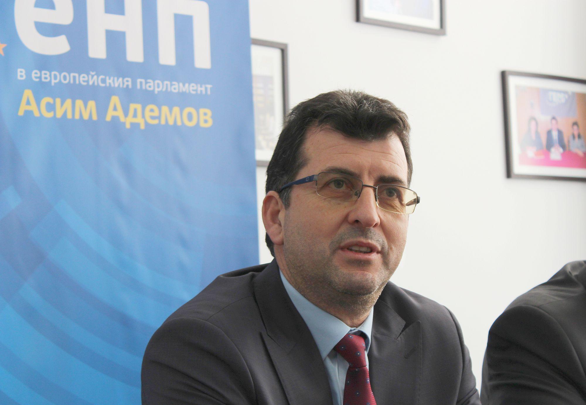 Евродепутатът Асим Адемов ще посети Област Разград