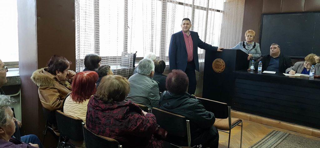 Д-р Валентин Василев присъства на отчетно събрание на � ...