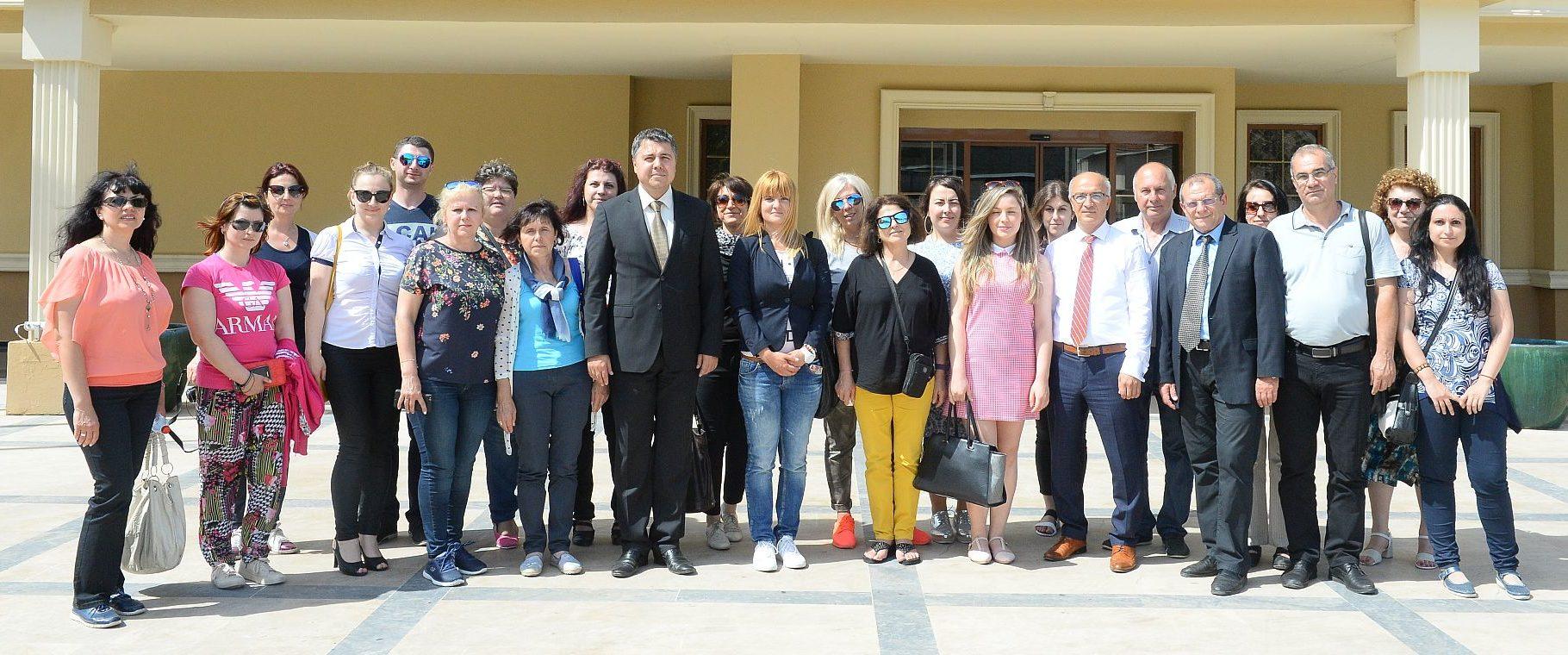 Служители от Областна администрация посетиха Одрин за ...