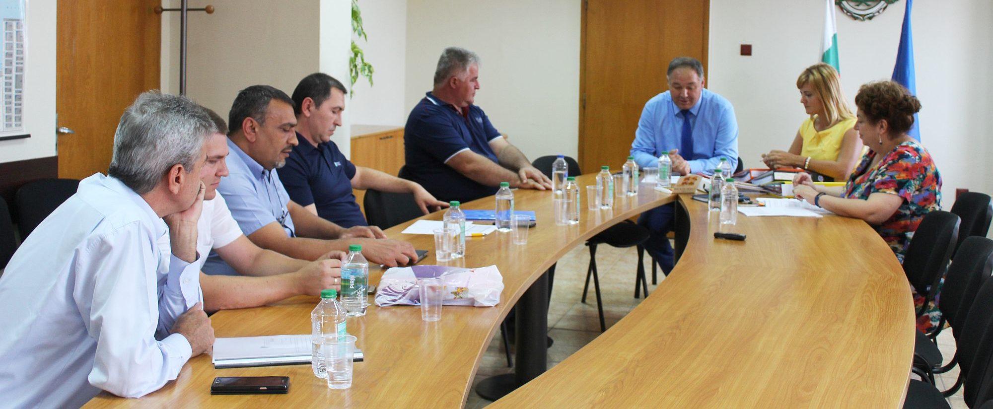 Дискусия за подготовка на Договора за стопанисване на  ...