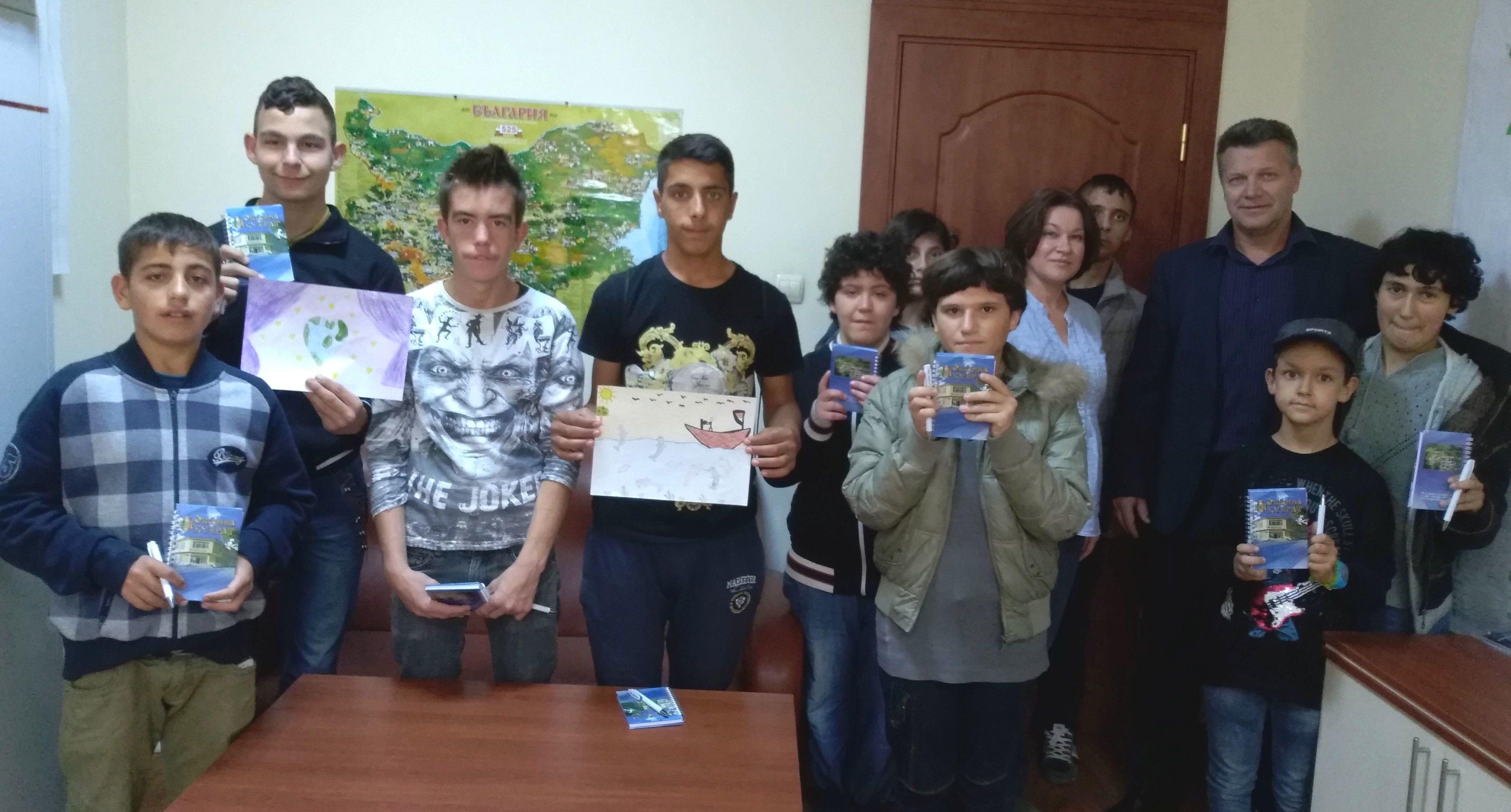 """Ученици от ЦСОП- Кубрат гостуваха в """"Час по щастие"""" на ..."""