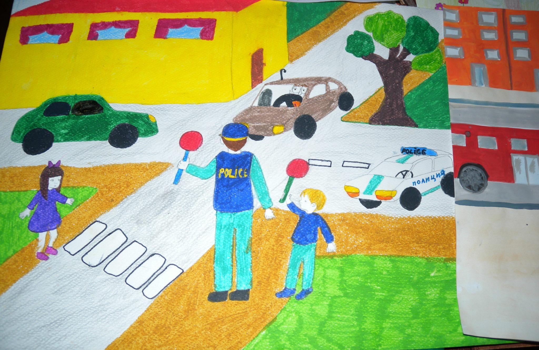 Четири рисунки на деца от Лудогорието ще участват в на� ...