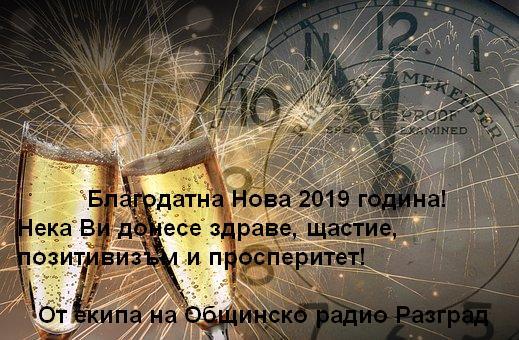 Честита Нова 2019 година!