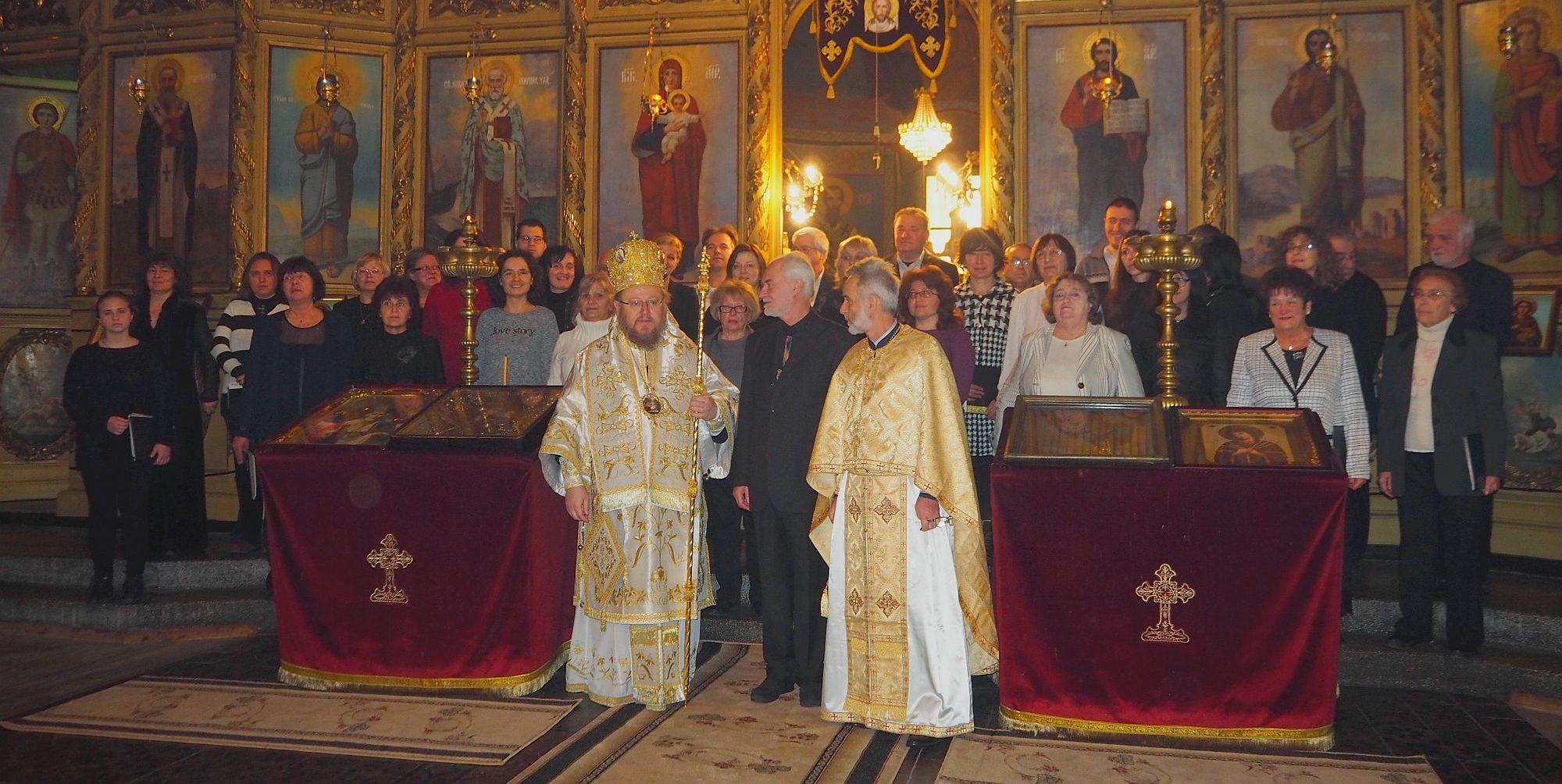 Русенският митрополит Наум отслужи Света литургия за � ...