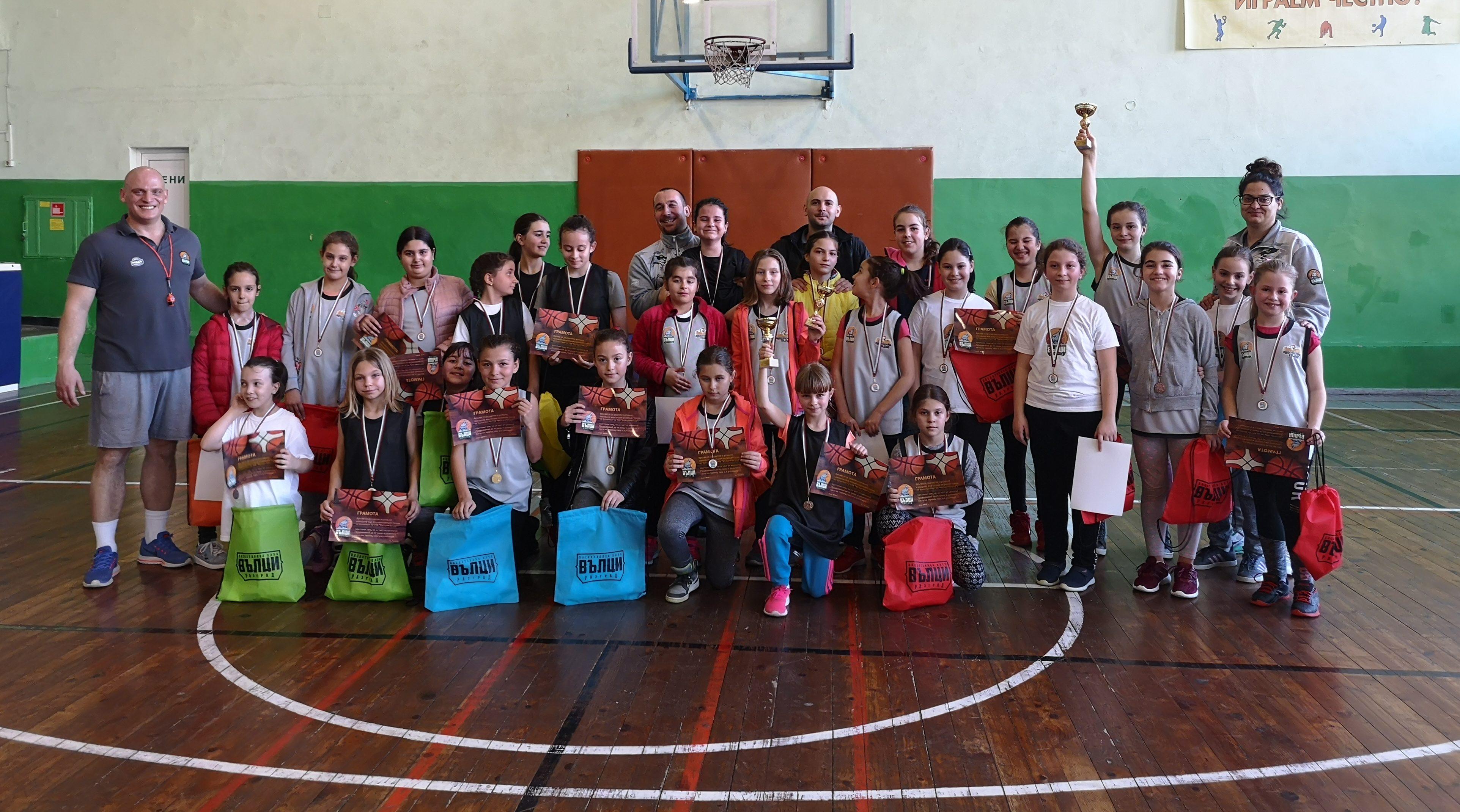 "Баскетболен клуб ""Вълци"" организира тридневен баске� ..."