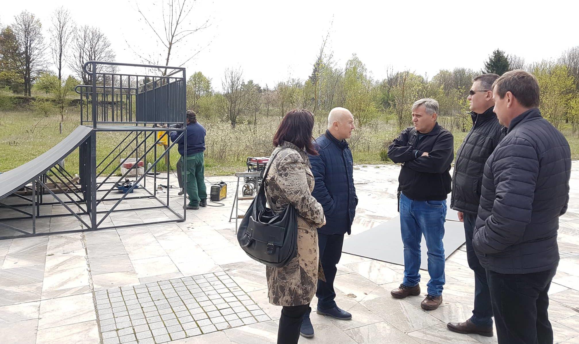 Нова скейтборд рампа за 8 982 лв. постави Община Разград � ...