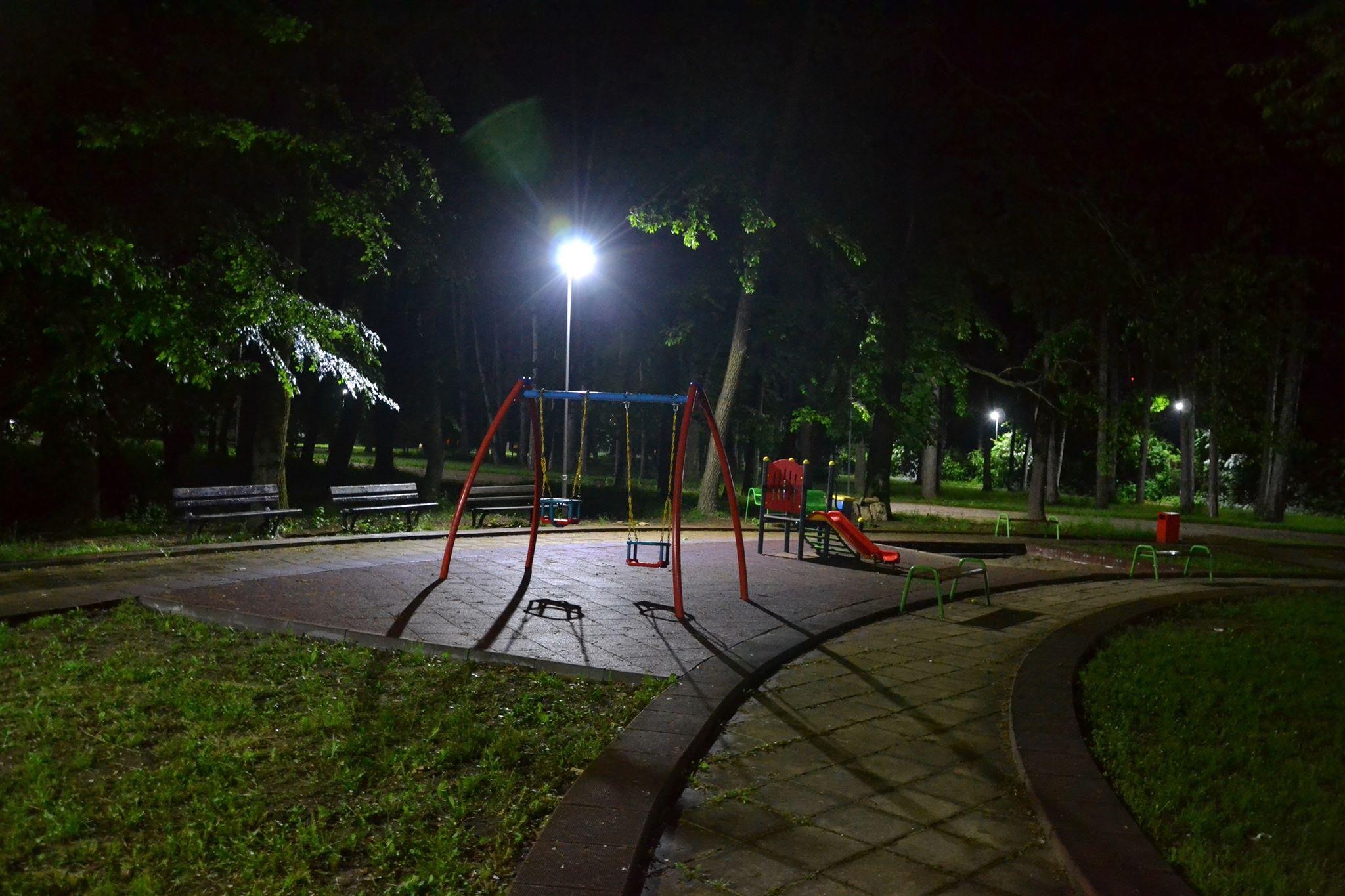 """464 нови LED лампи осветяват Градски парк и квартал """"Орел ..."""