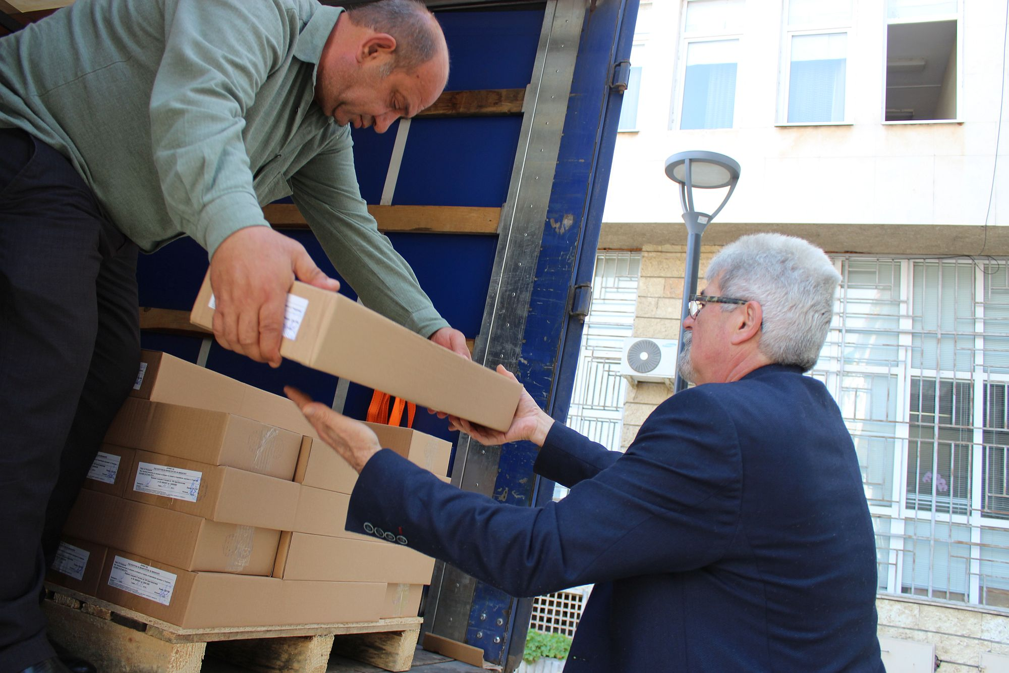 124 600 бюлетини за евровота на 26 май бяха доставени в Раз� ...