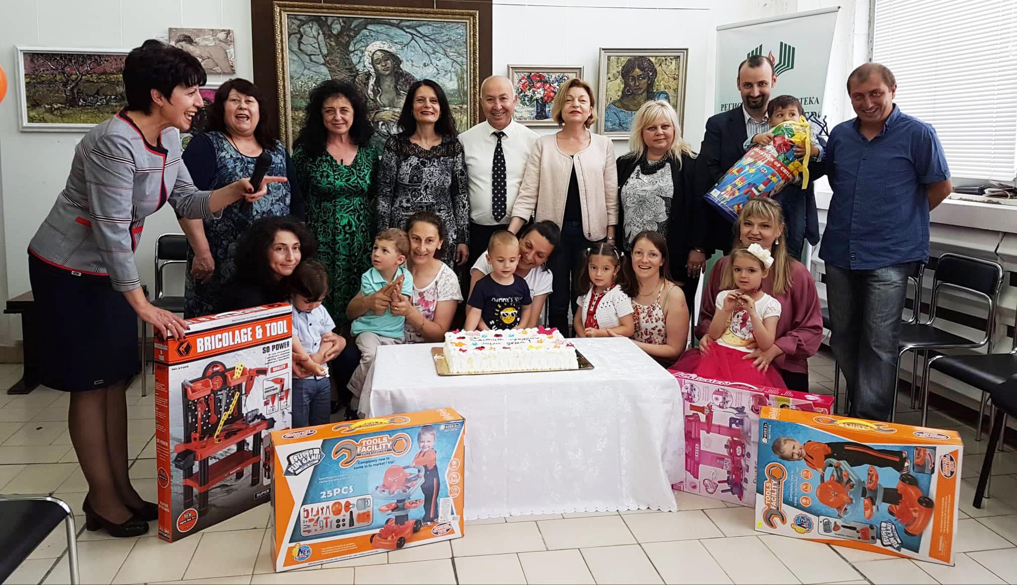 За 1 юни Община Разград организира парти за децата, род� ...