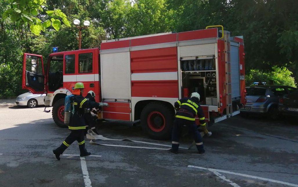 Детска игра причини пожар в Бърдоква