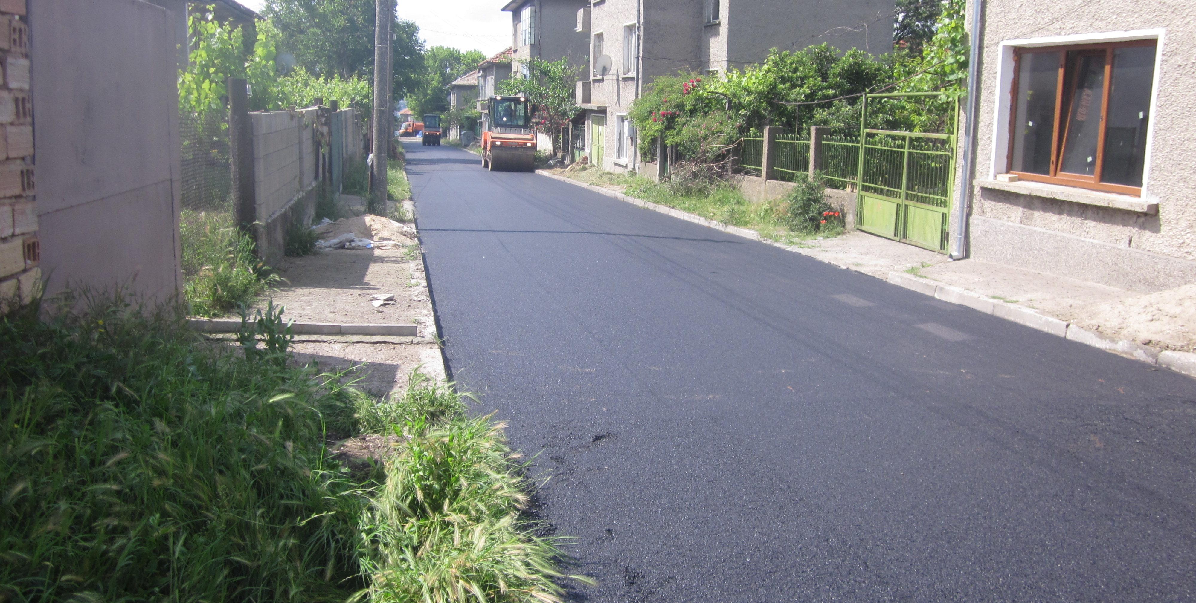 Община Разград асфалтира с целеви средства от 1 654 901 лв. ...