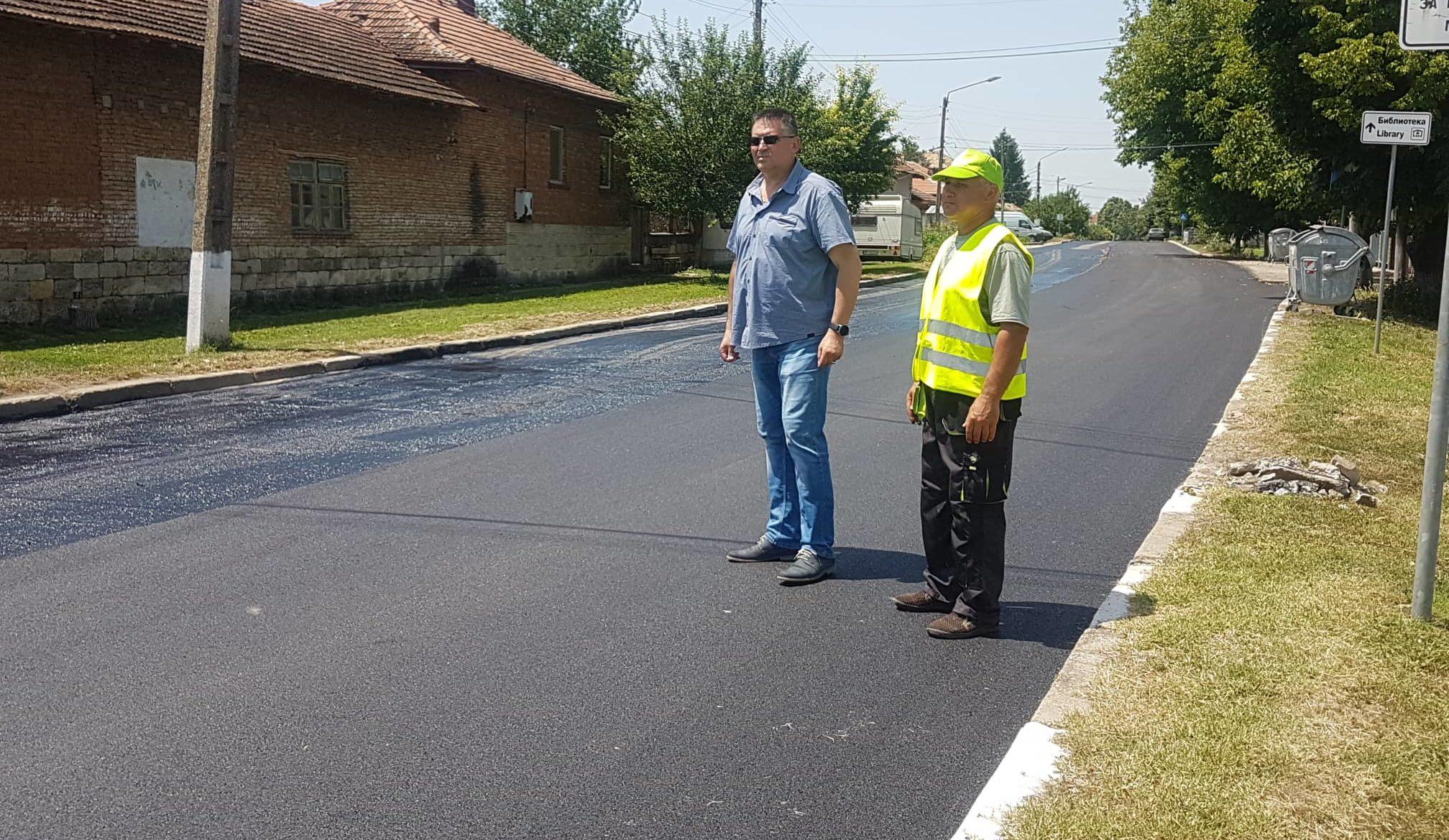 Община Разград асфалтира и в Гецово