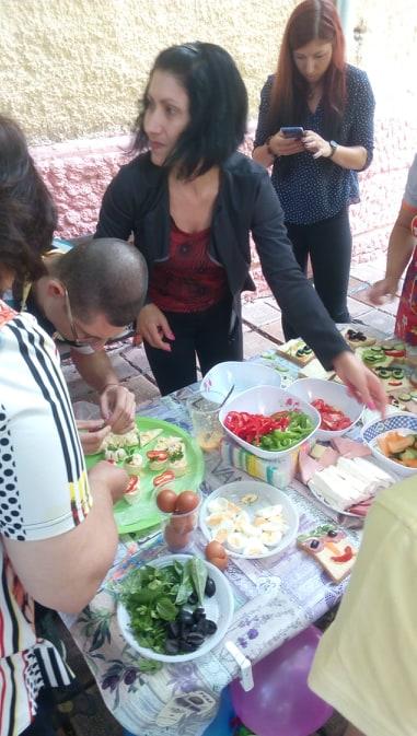Социални услуги участваха в кулинарно състезание