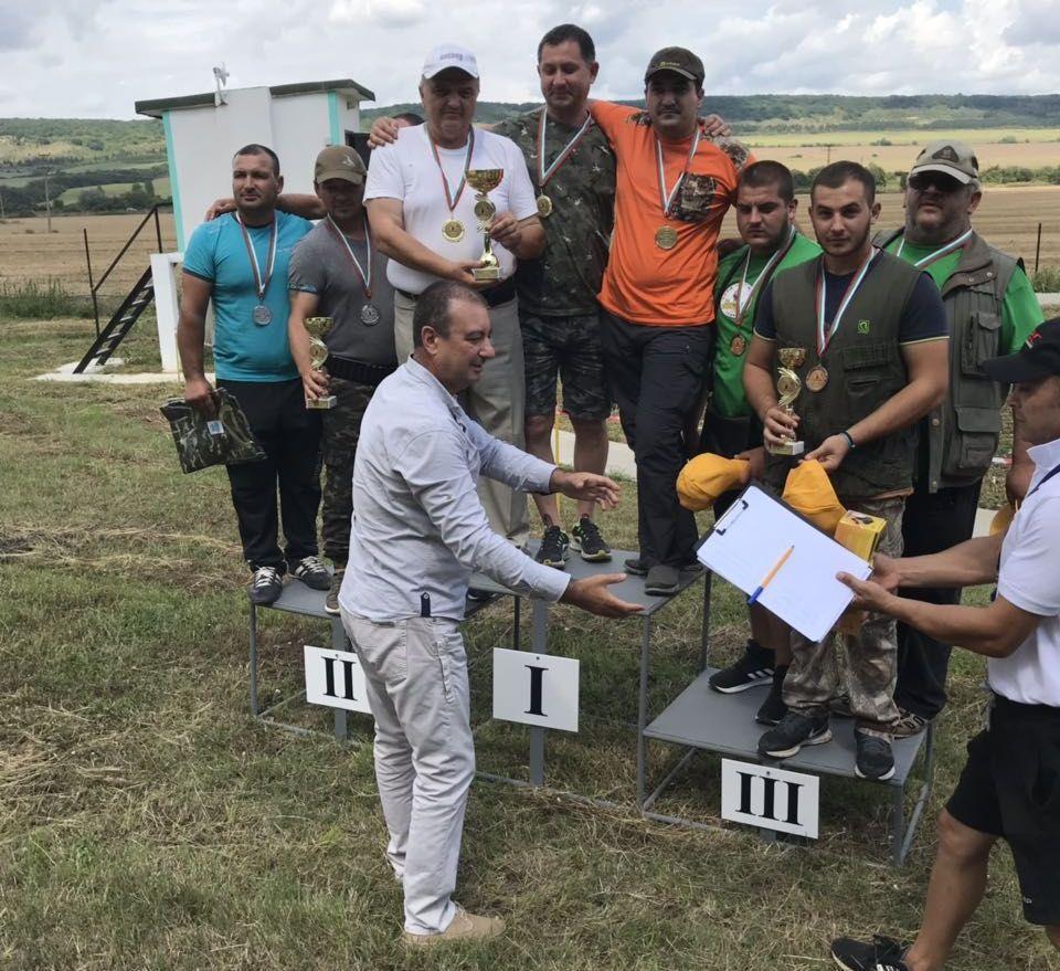 Първият Регионален турнир по стрелба по панички скийт, ...