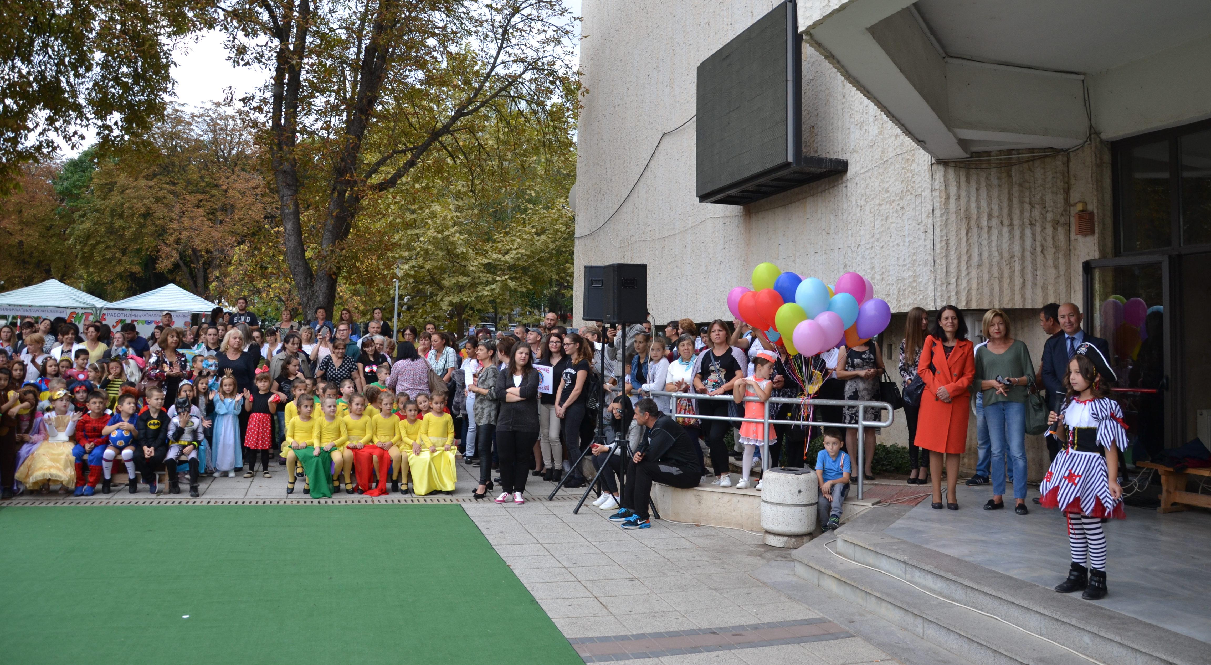 """Над 360 деца участваха в общинското събитие """"Децата – б ..."""