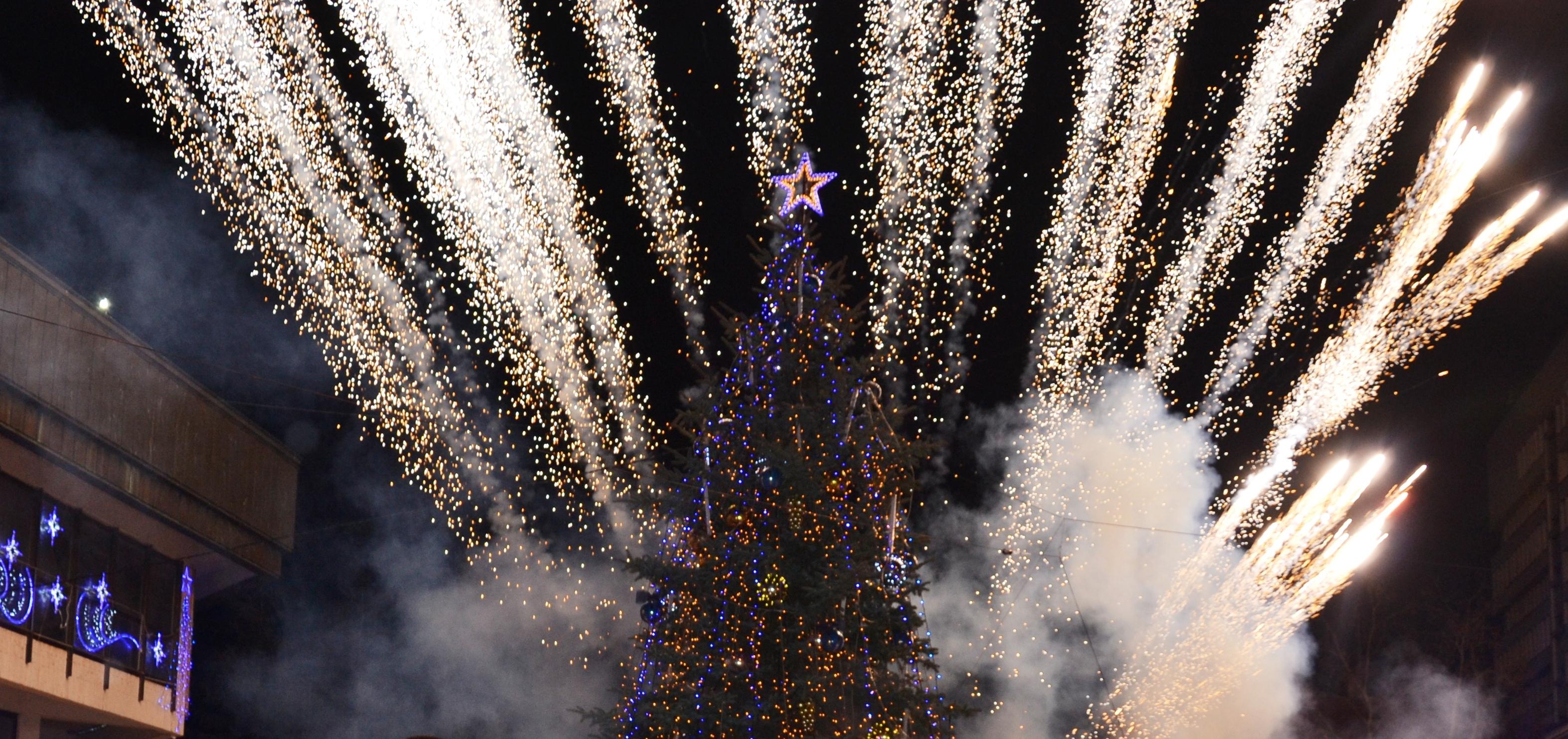 На 5-ти декември ще грейне елхата на Разград