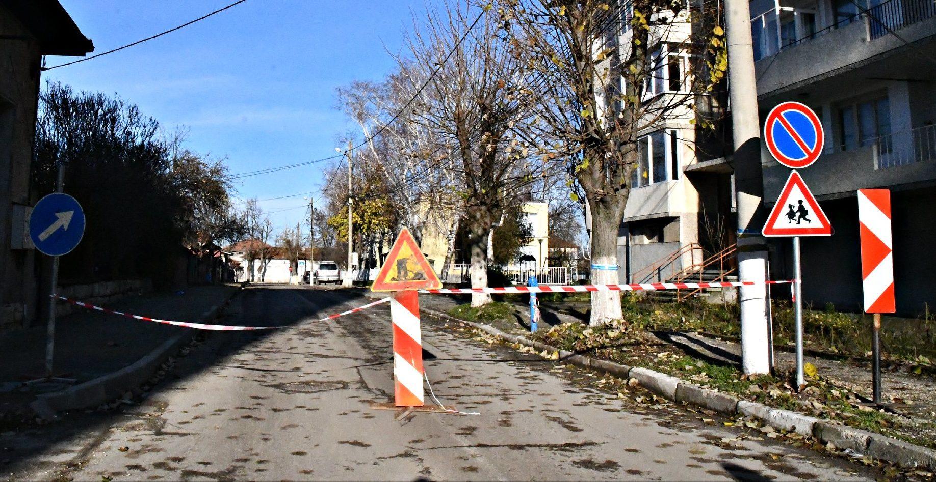 Обновяват улици в Кубрат, кметът извършва проверки