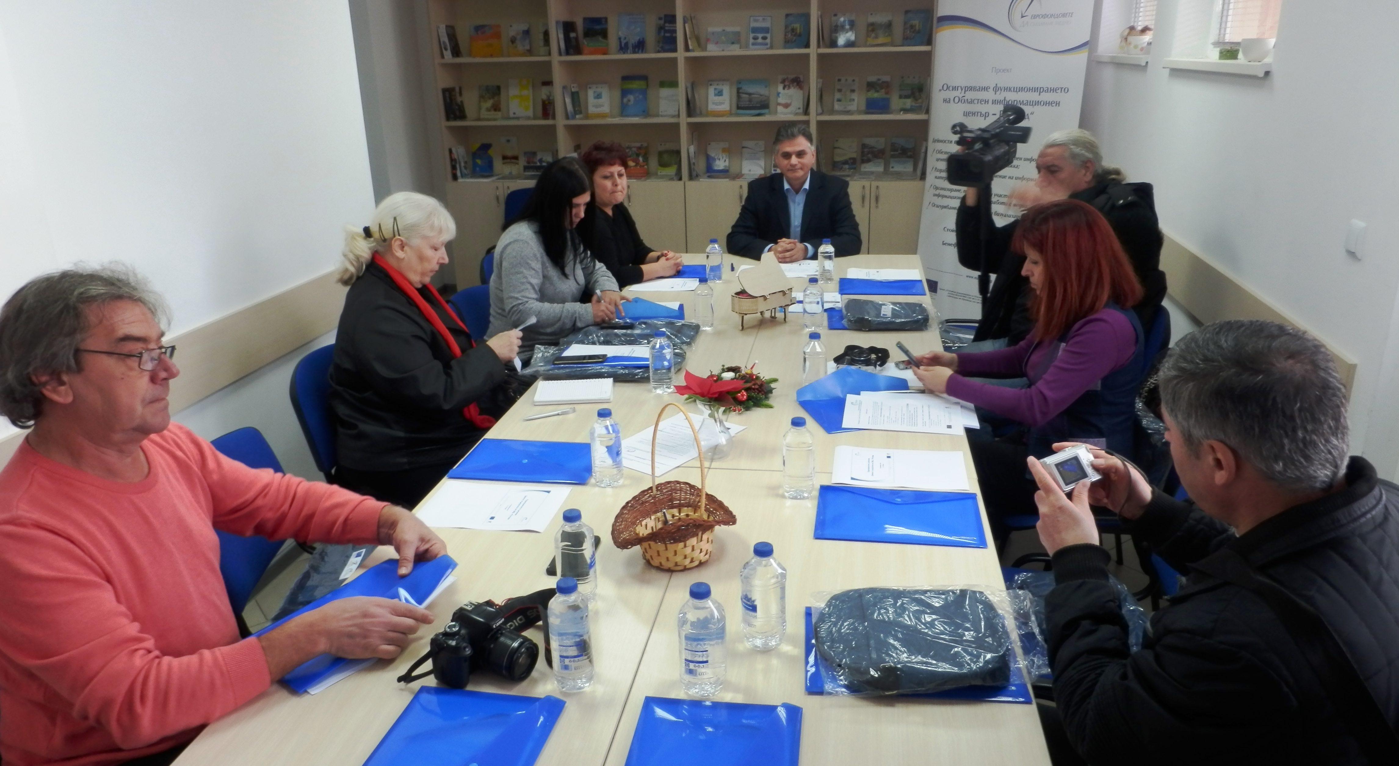 Годишна среща с медиите на ОИЦ – Разград