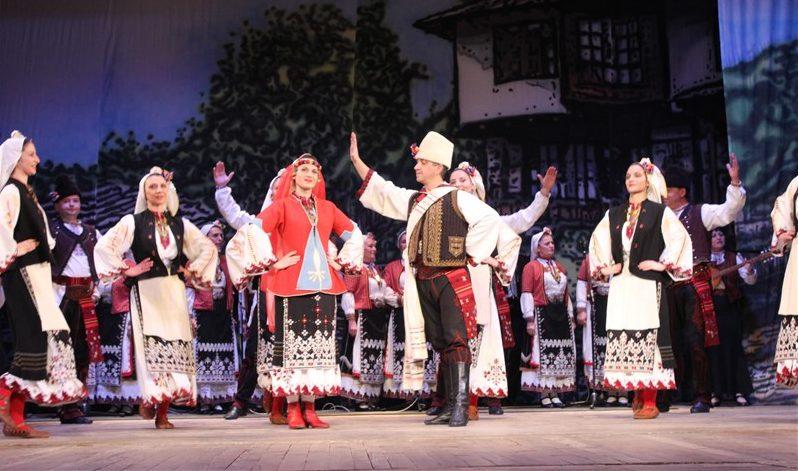 Концерт на Капанския ансамбъл в Козлодуй за празницит� ...