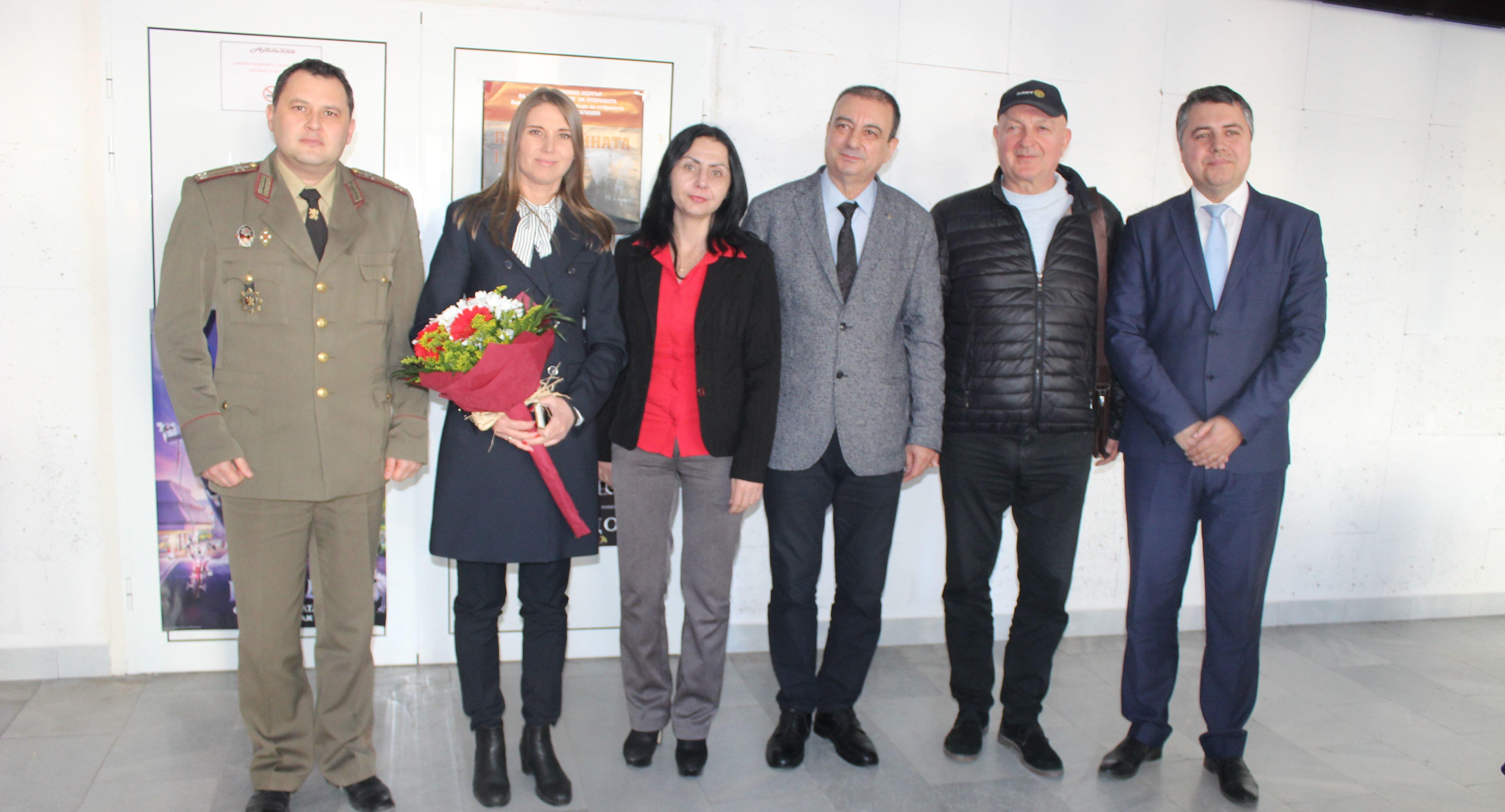 Заместник-кметът Милена Орешкова бе гост на прожекция  ...