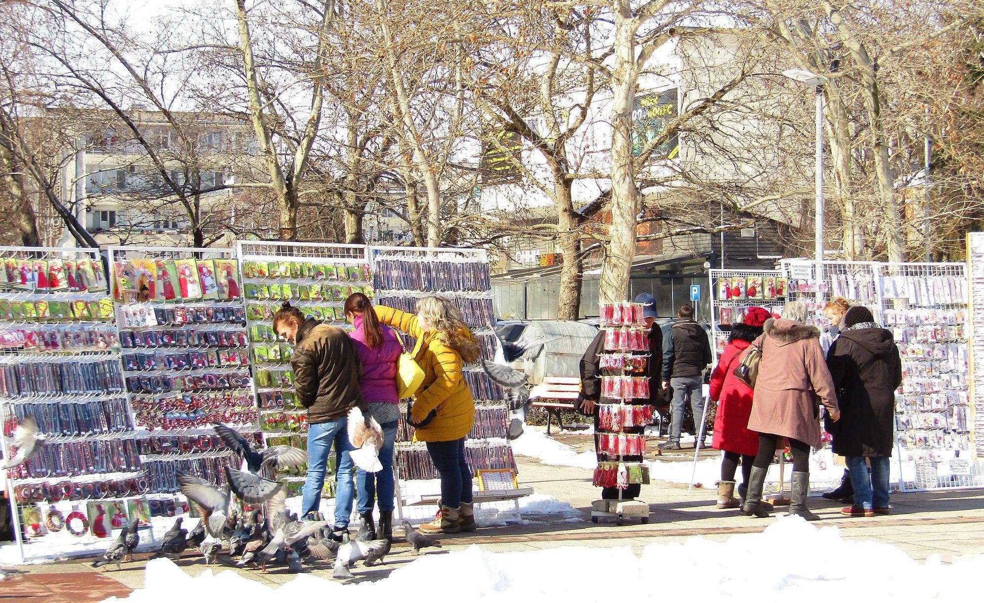 На 48 щанда ще продават мартеници в Разград