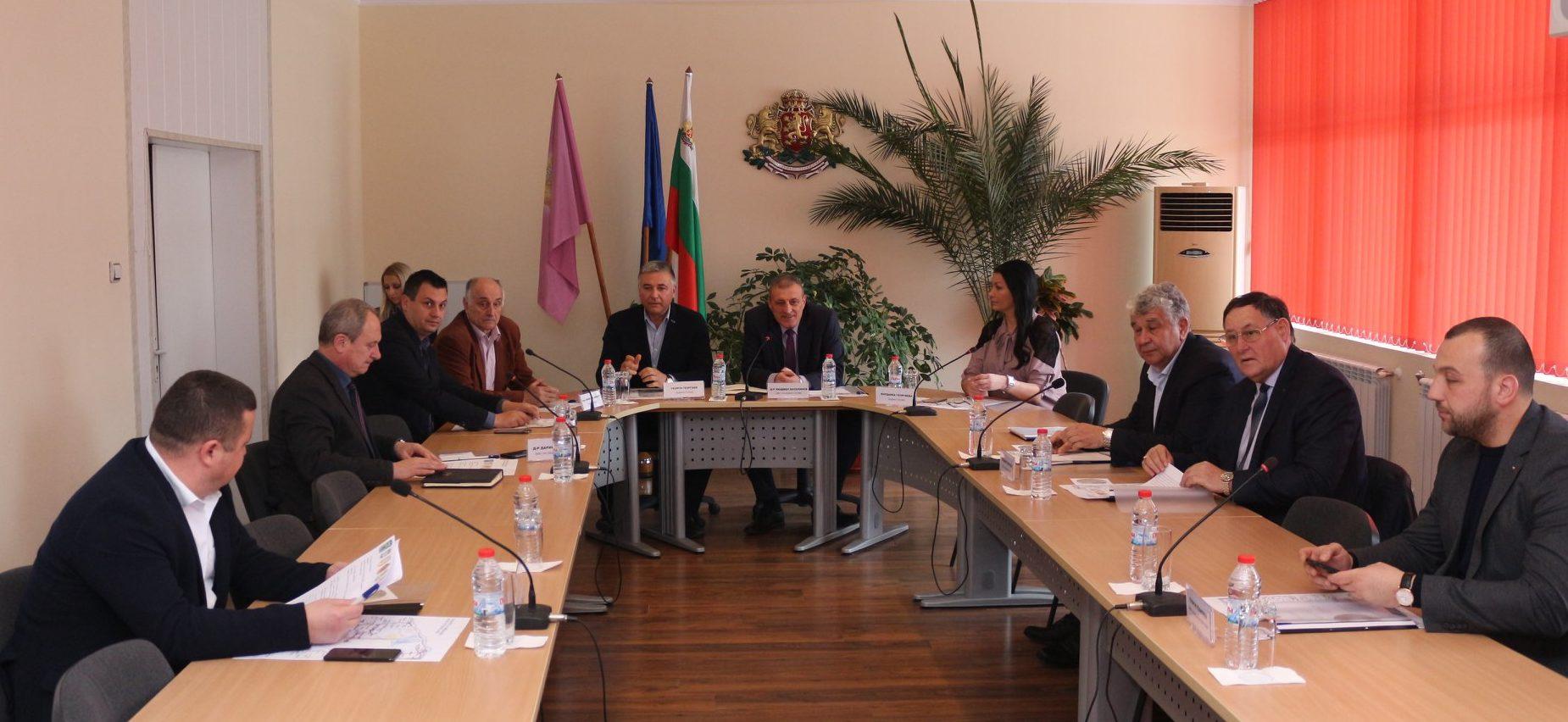 Заместник-кметът Мирослав Грънчаров участва в работна ...