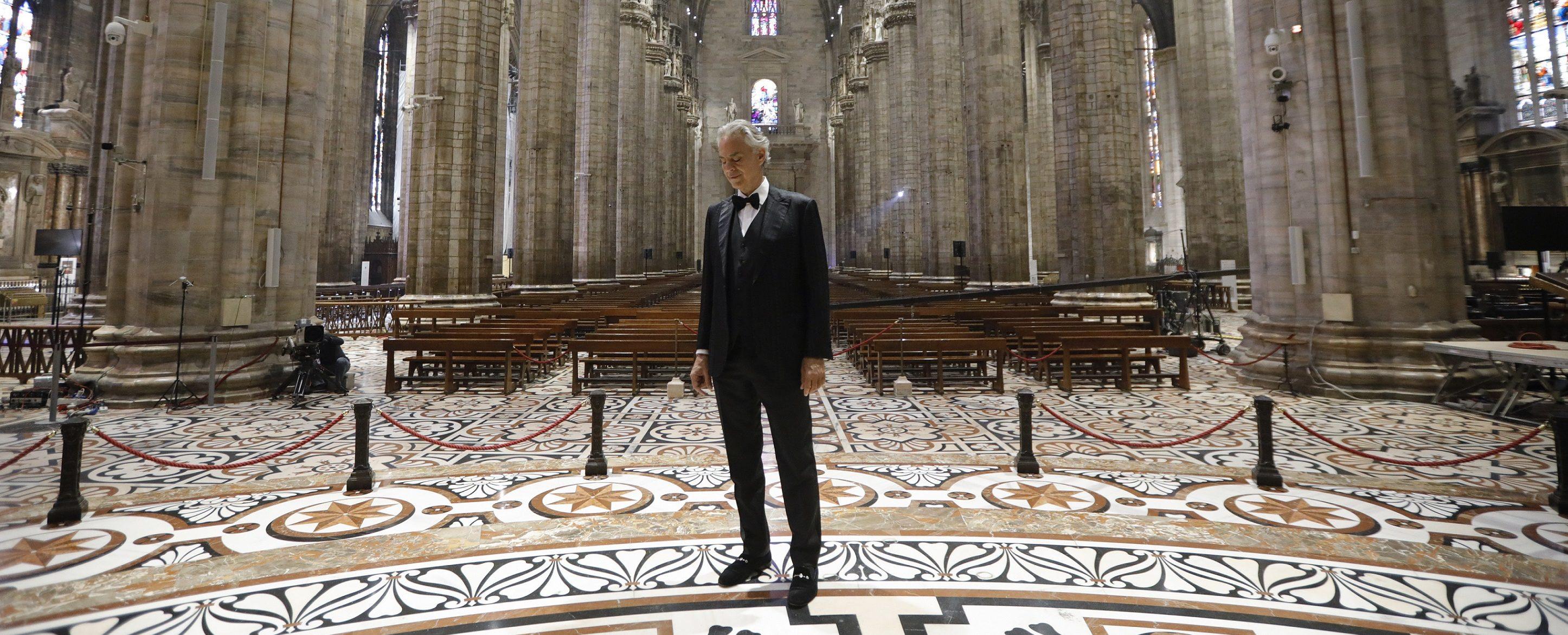 Bulgaria ON AIR ще излъчи ексклузивно концерта на Андреа Боче ...