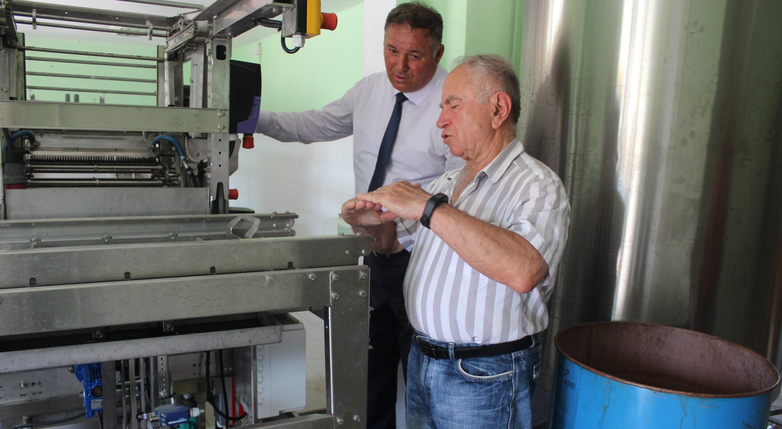Областният управител Гюнай Хюсмен посети фабрика за п� ...