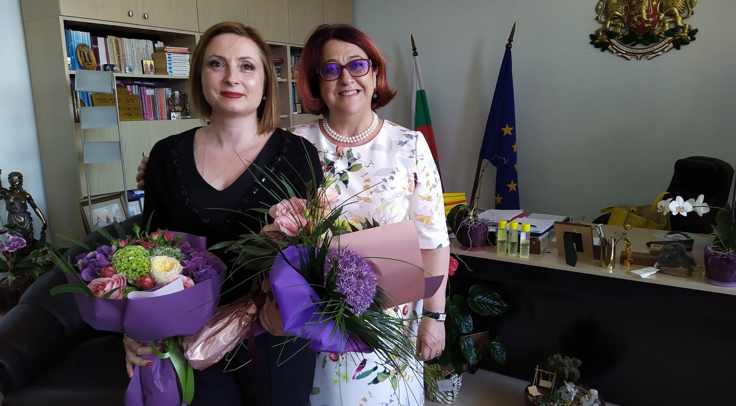 Съдия Светослава Колева вече и официално е част от еки� ...