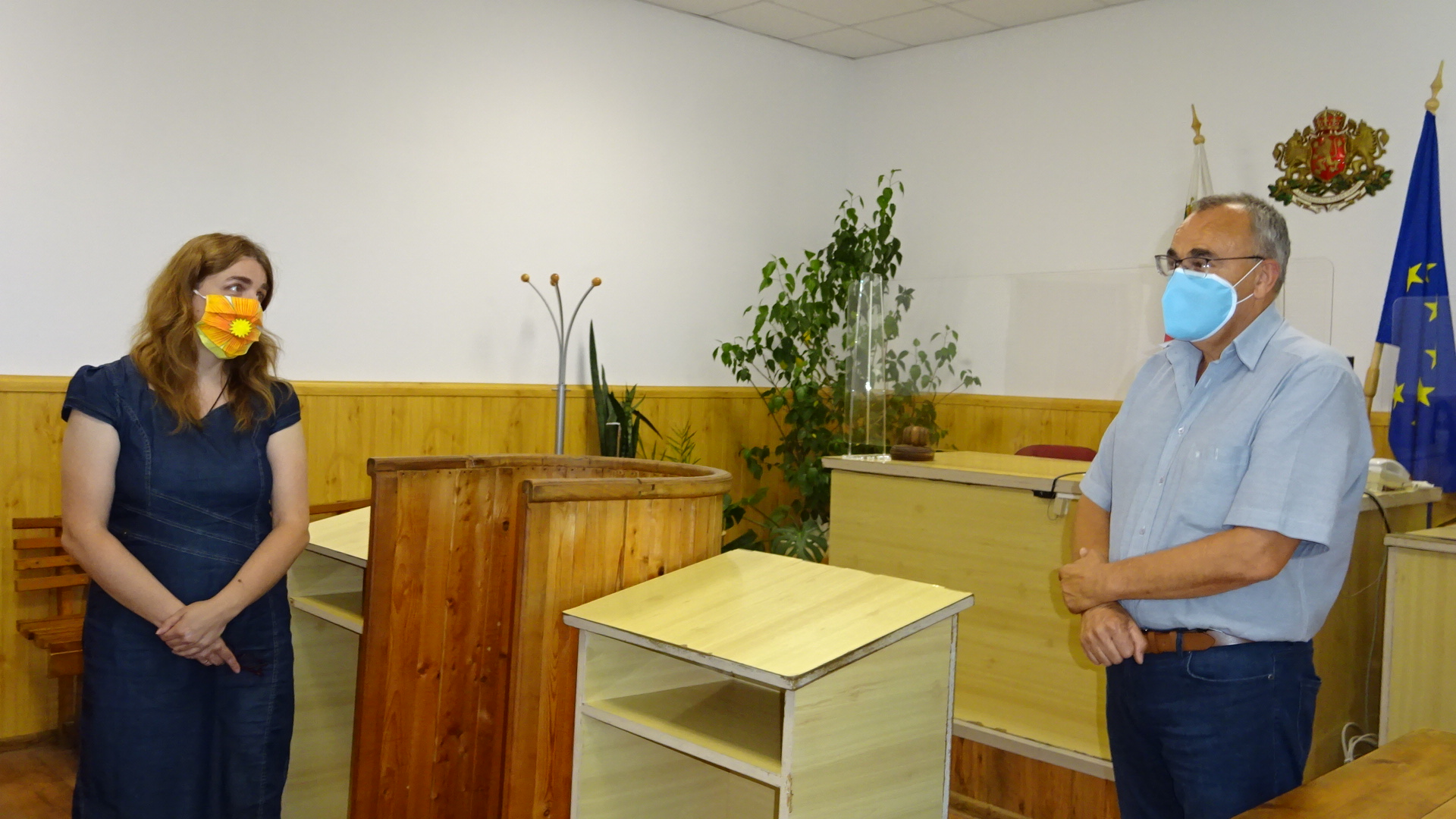 Новоизбраният председател на Районен съд Исперих съди ...