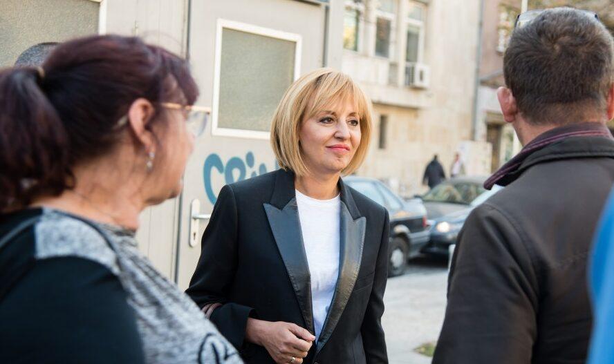 Мая Манолова ще се срещне с граждани в Разград