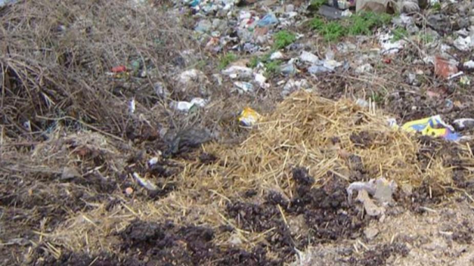 Множество замърсени терени в областите Русе, Разград и ...