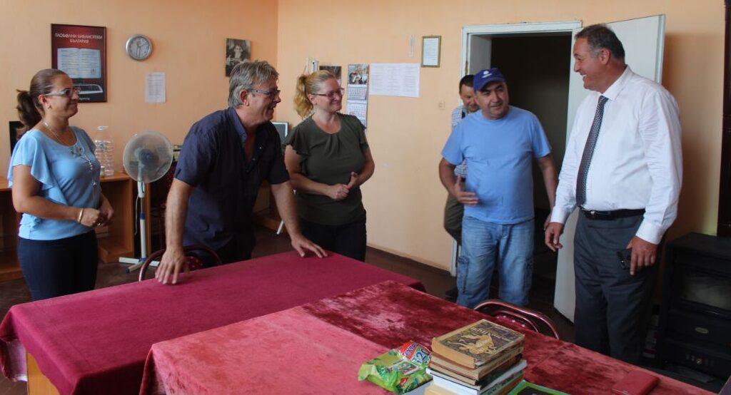 Областният управител Гюнай Хюсмен откри обновена, в ра ...