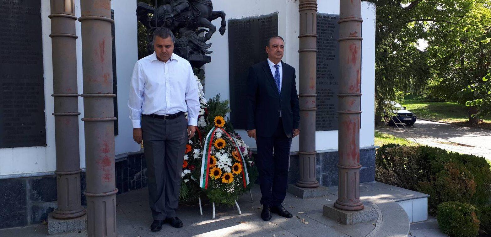 Евгени Драганов и Михаил Тодоров участваха в тържеств� ...