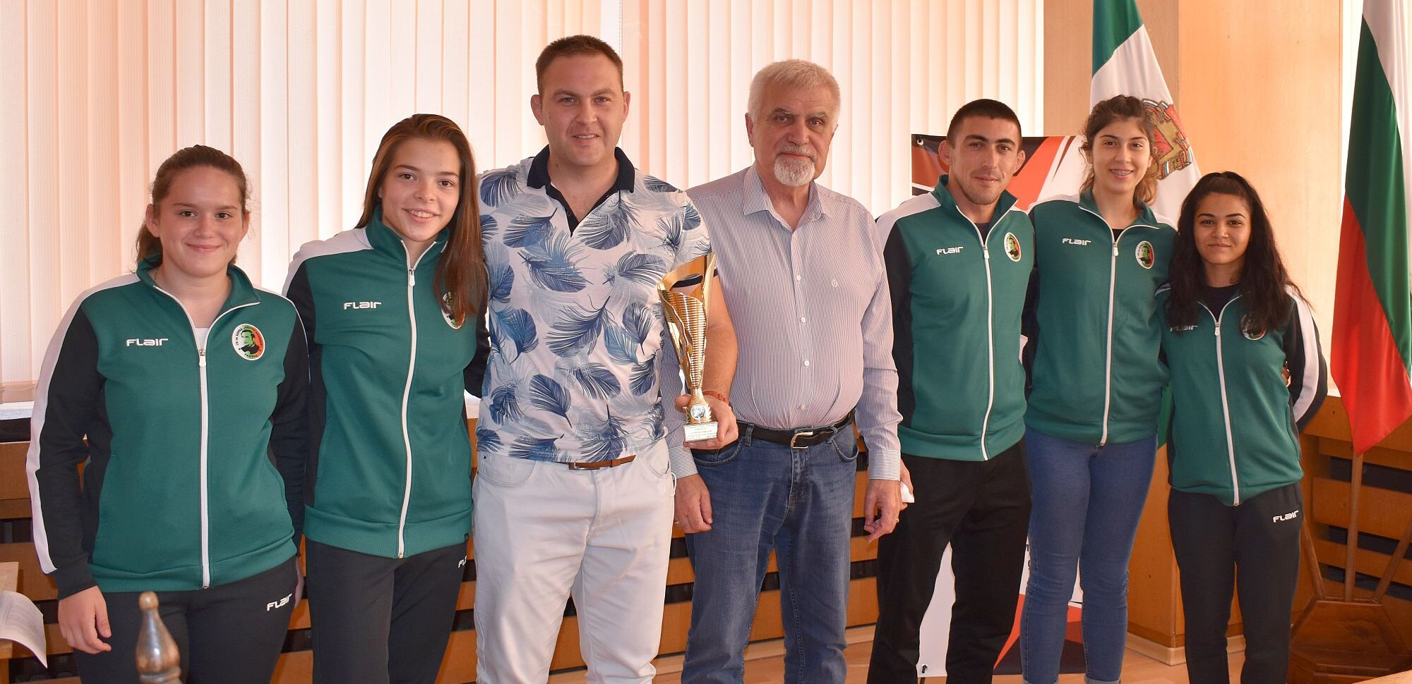 Кметът Денчо Бояджиев поздрави състезателките от СКБ� ...