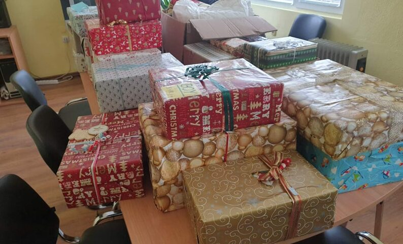 """СНЦ """"ЖАНЕТА"""" раздаде подаръци на 54 деца от община ..."""