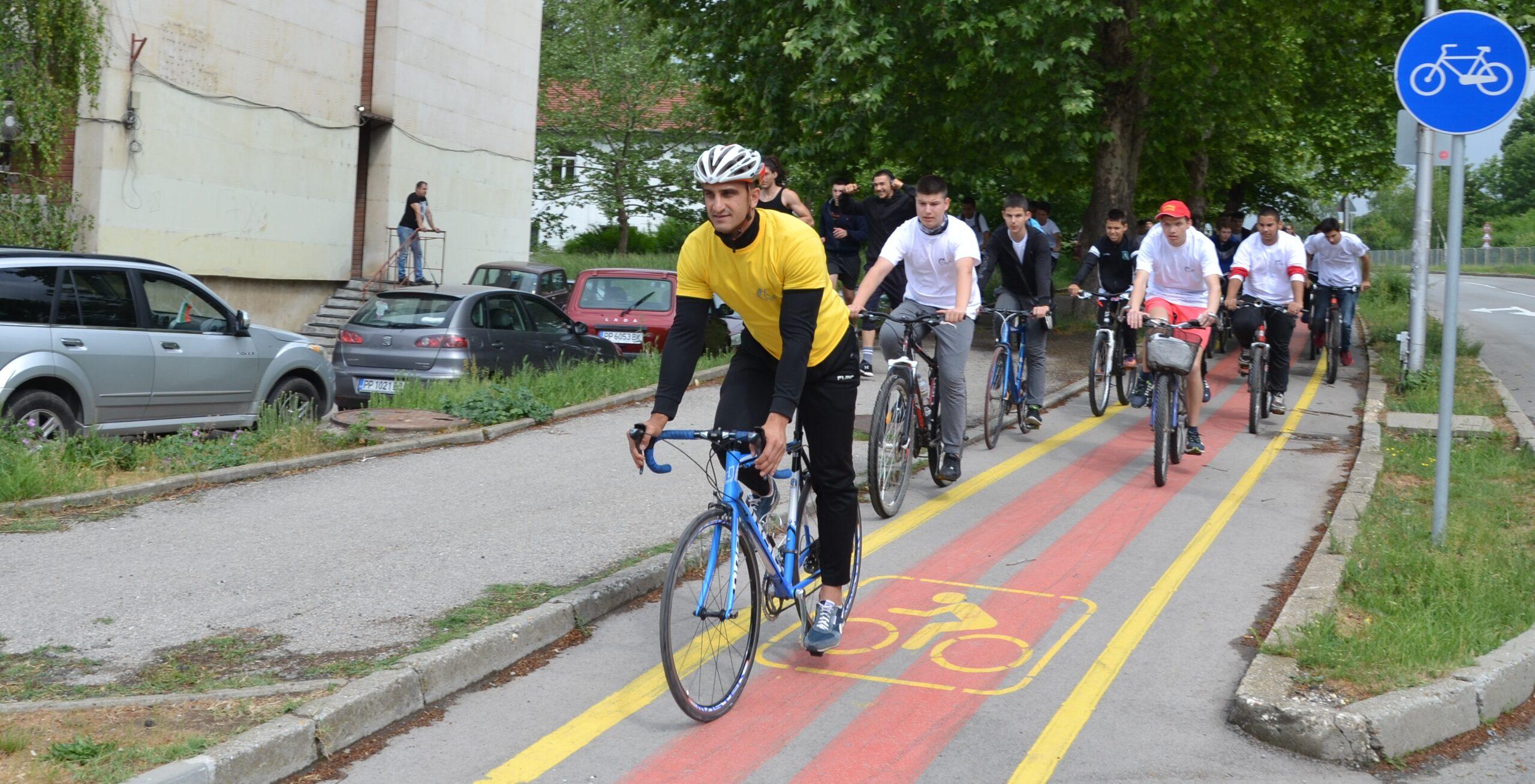 Колоездачът Мирослав Минчев е спортист номер 1 на обла� ...