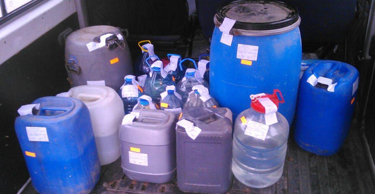 Над 350 литра безакцизен алкохол са открити и иззети при ...