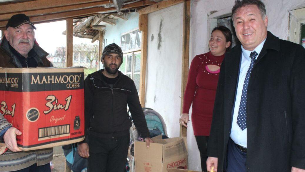 Гюнай Хюсмен помогна на многодетно семейство