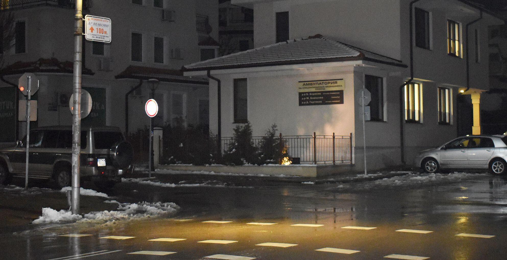 Експериментално осветление на две пешеходни пътеки