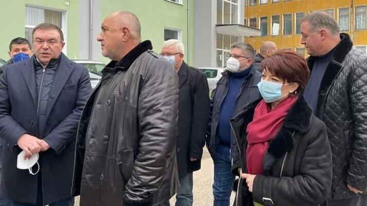 Министър-председателят Бойко Борисов посети област Ра ...