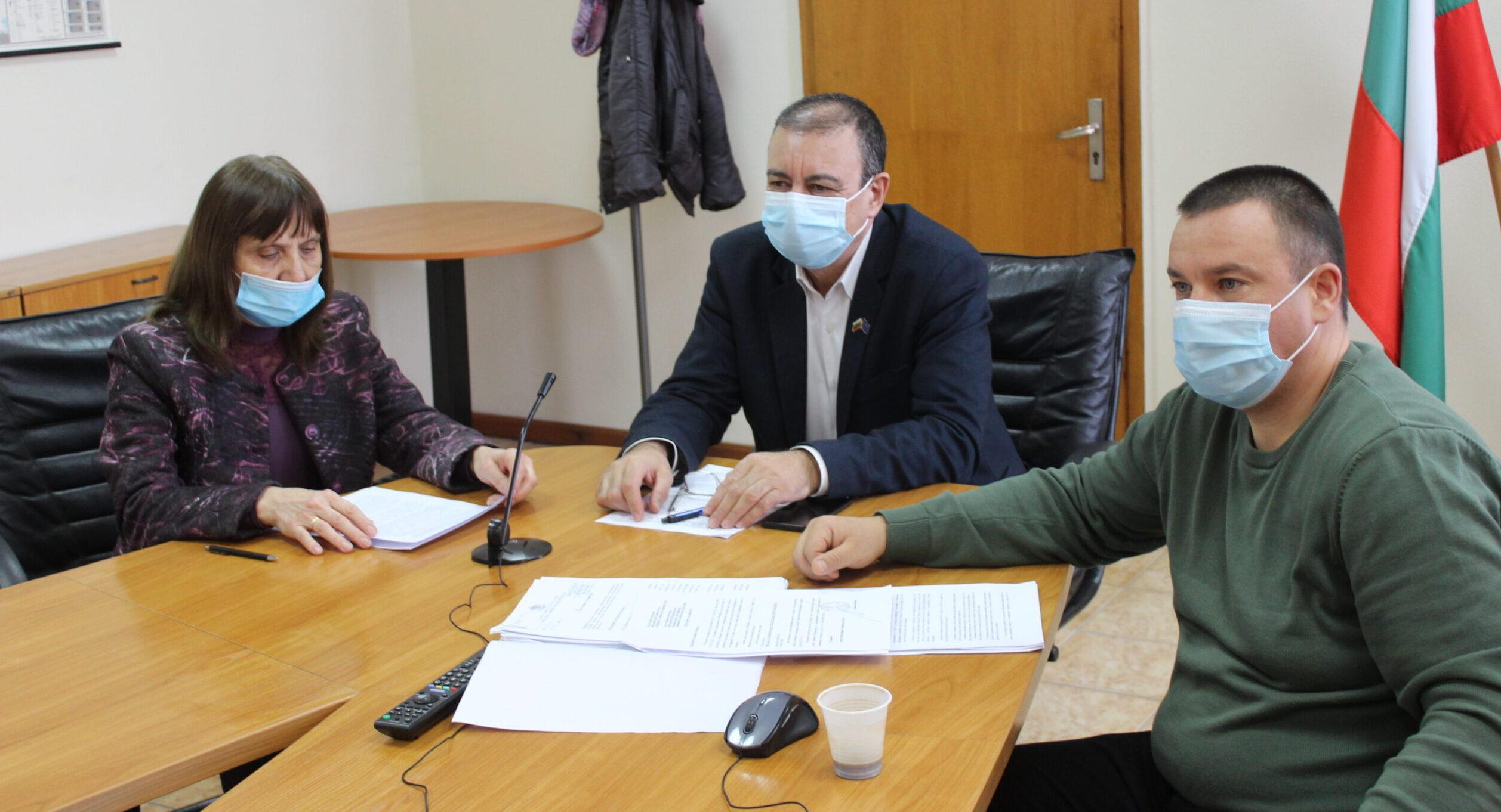 Евгени Драганов участва в заседание на Координационно ...