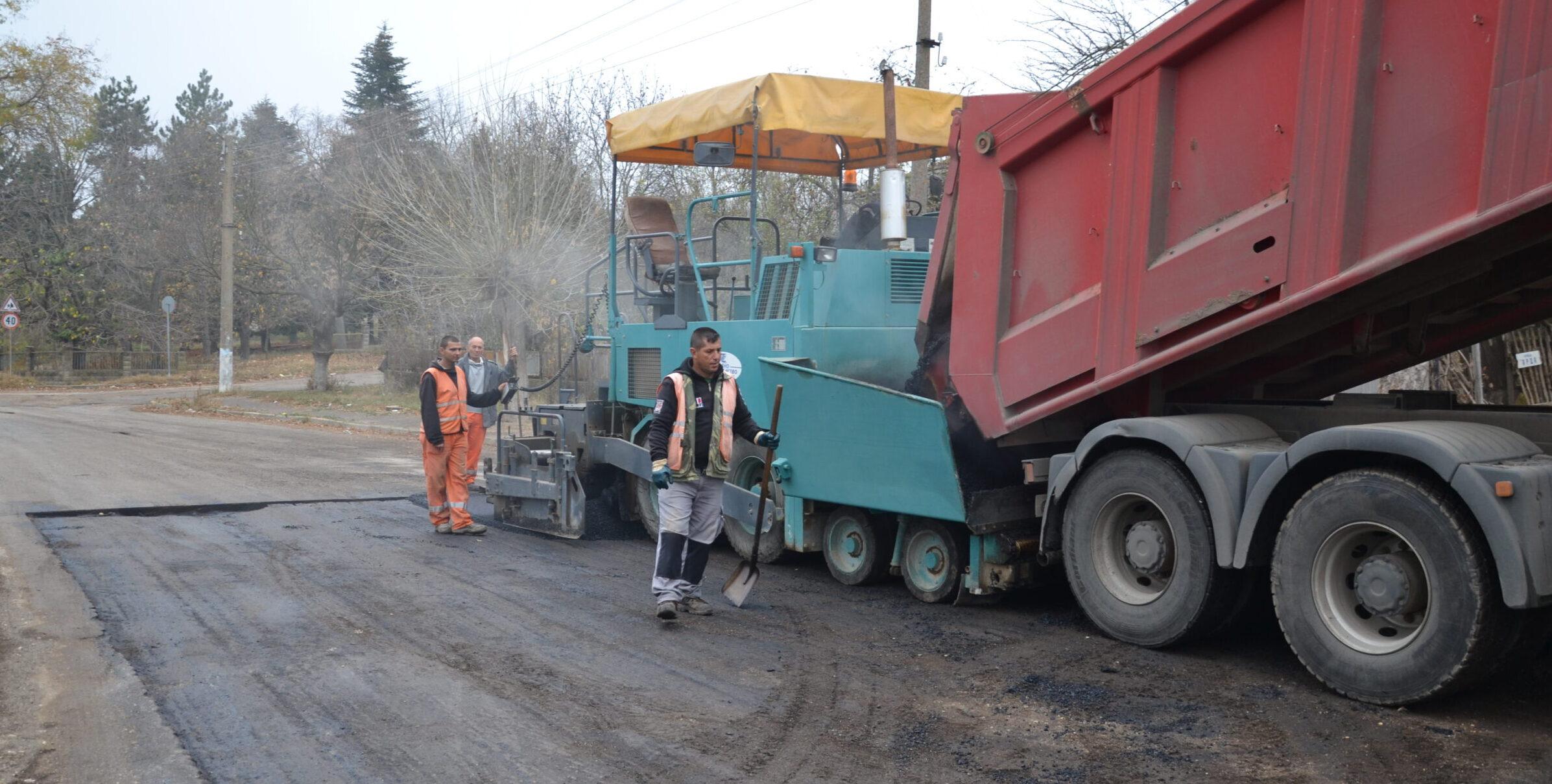 През април ще се ремонтират 18 км от път III-205 Разград – ...