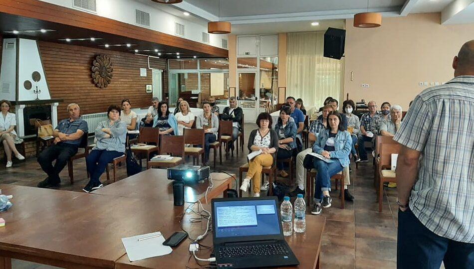 40 педагогически съветници участваха в обучение, орган� ...
