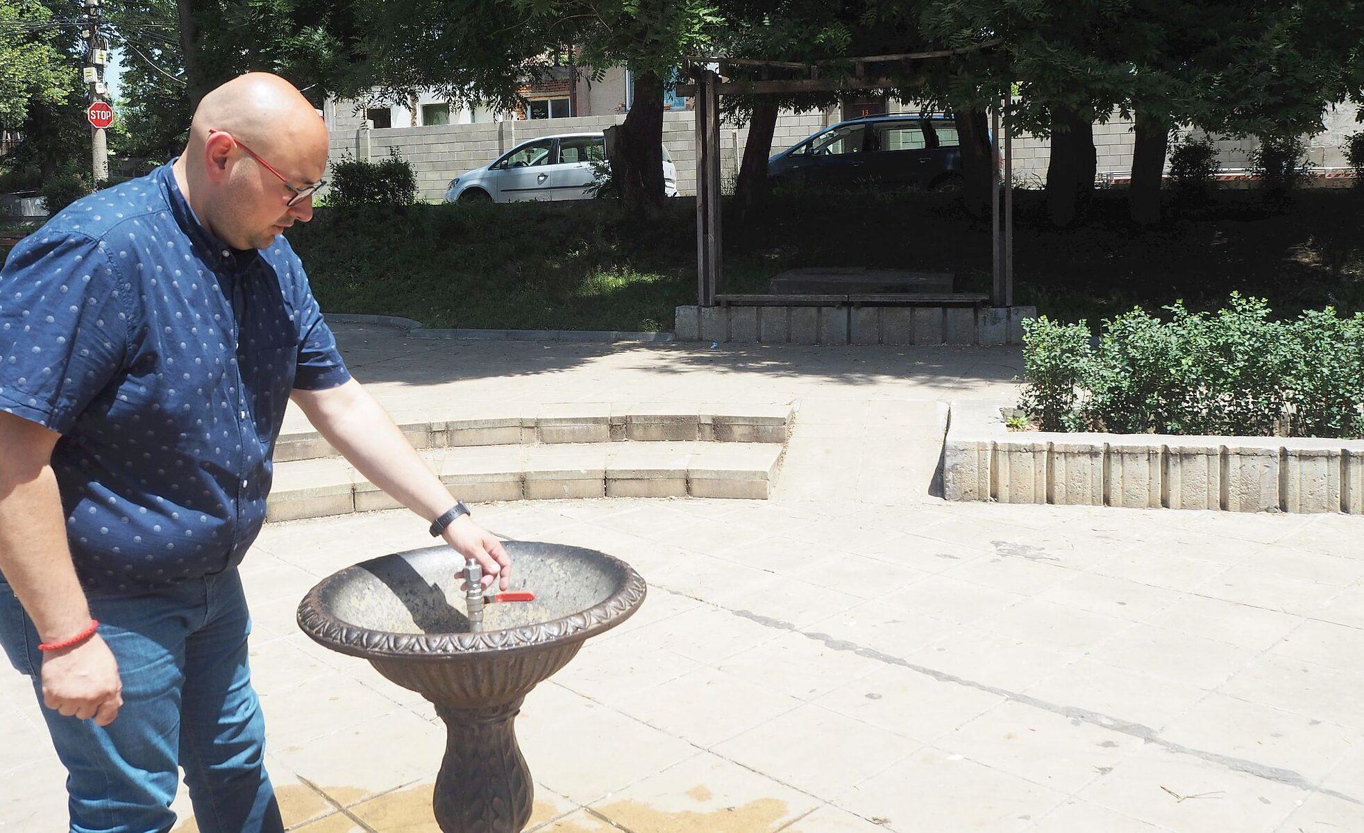 Община Разград извърши ремонт на 11 градски чешми