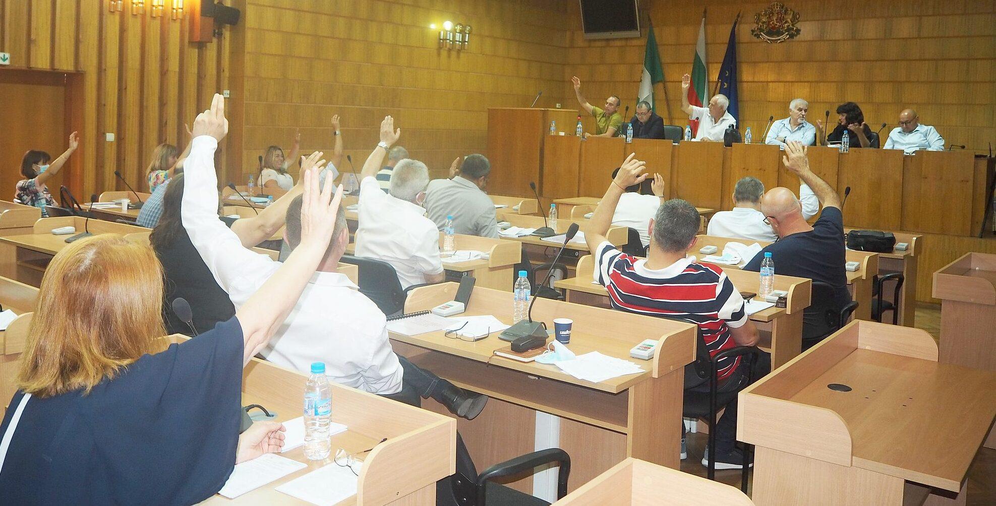 Общинските съветници приеха 14 докладни